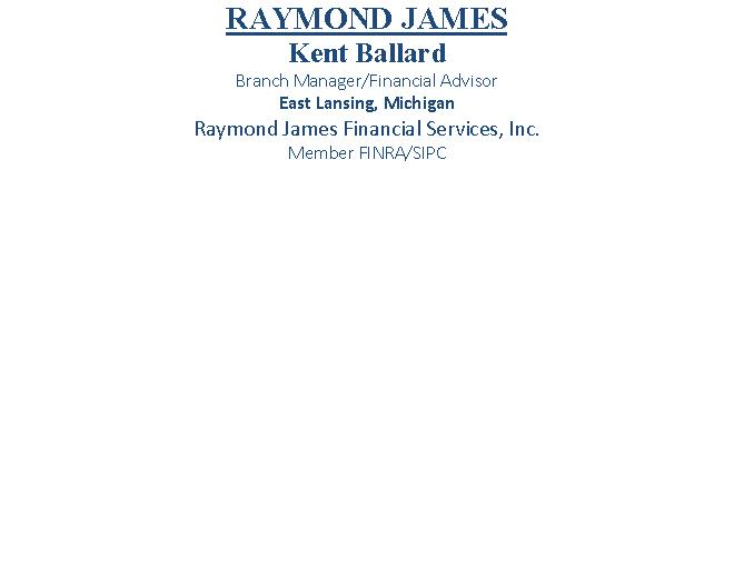 Raymond James Financial Services, Inc. | Financial Advisor in East Lansing ,MI